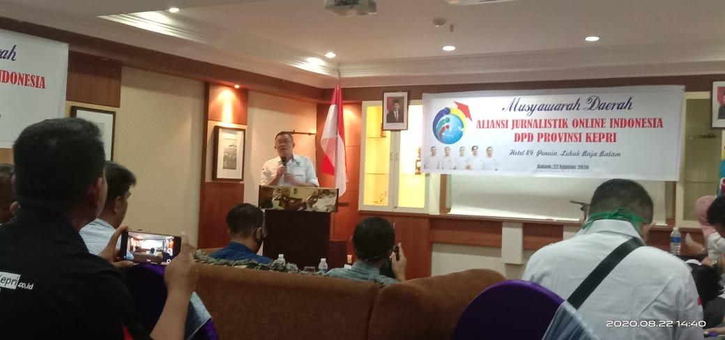 Gelar Kegiatan Musda 2020,Ketua DPD AJOI Kepri:Semua Yang Tergabung Harus Siap Menerima Perombakan Struktur Kepengurusan