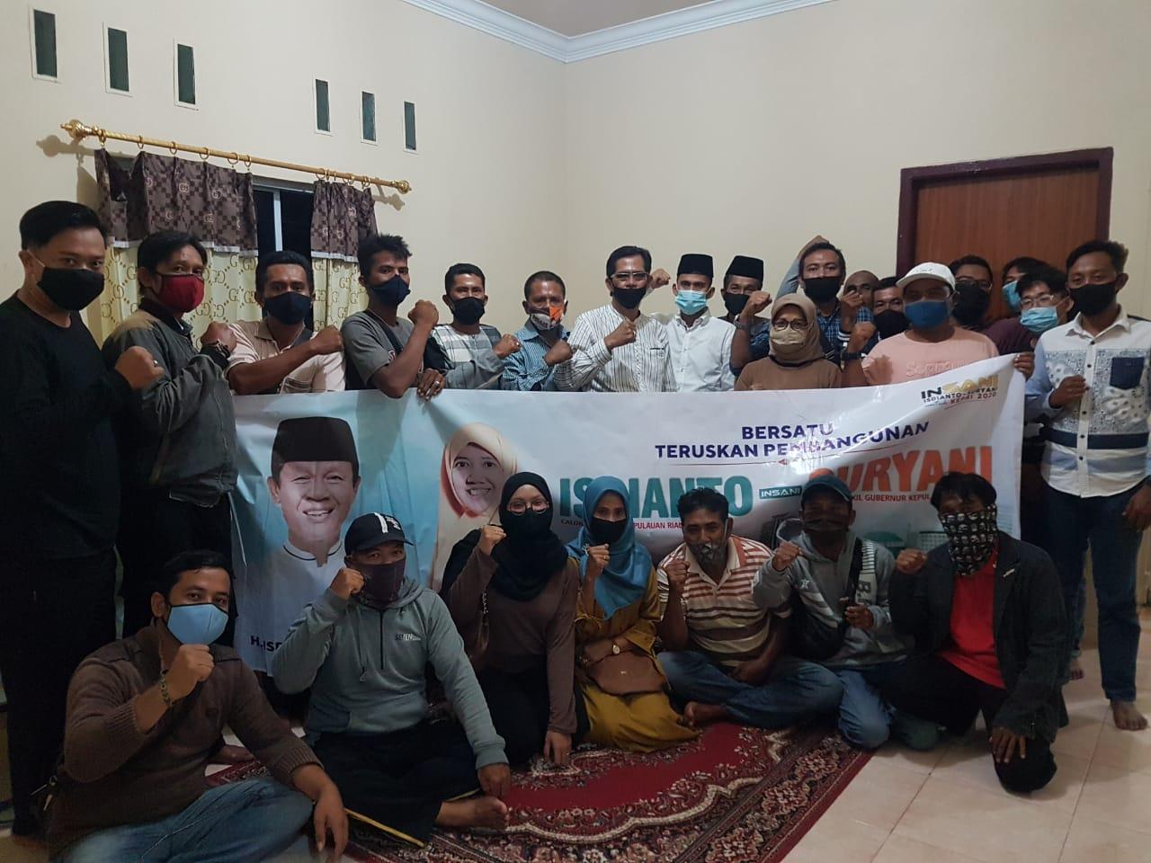 Alhamdulillah Pembentukan Pengurus DPD BPI Isdianto-Suryani Sukses Terlaksana di Tanjung Pinang