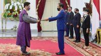 Presiden Jokowi Terima Surat Kepercayaan Tujuh Duta Besar Negara Sahabat