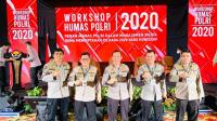 Kabid Humas Polda Kepri Kombes Pol. Harry Goldenhardt S., S.IK., M.Si.,Turut hadir Dalam Kegiatan Workshop Divisi Humas Polri T.A 2020